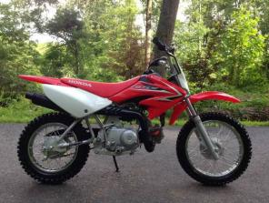 Mint! 2009 HONDA CRF70 less than 10 hours