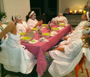 Spa Parties for  Girls  - New Jersey